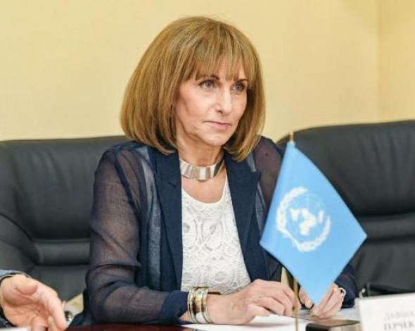 Вітальне слово Постійної представниці ПРООН в Україні Дафіни ГерчевЇ під час Екологічного форуму ООН, 15 червня 2021 р.