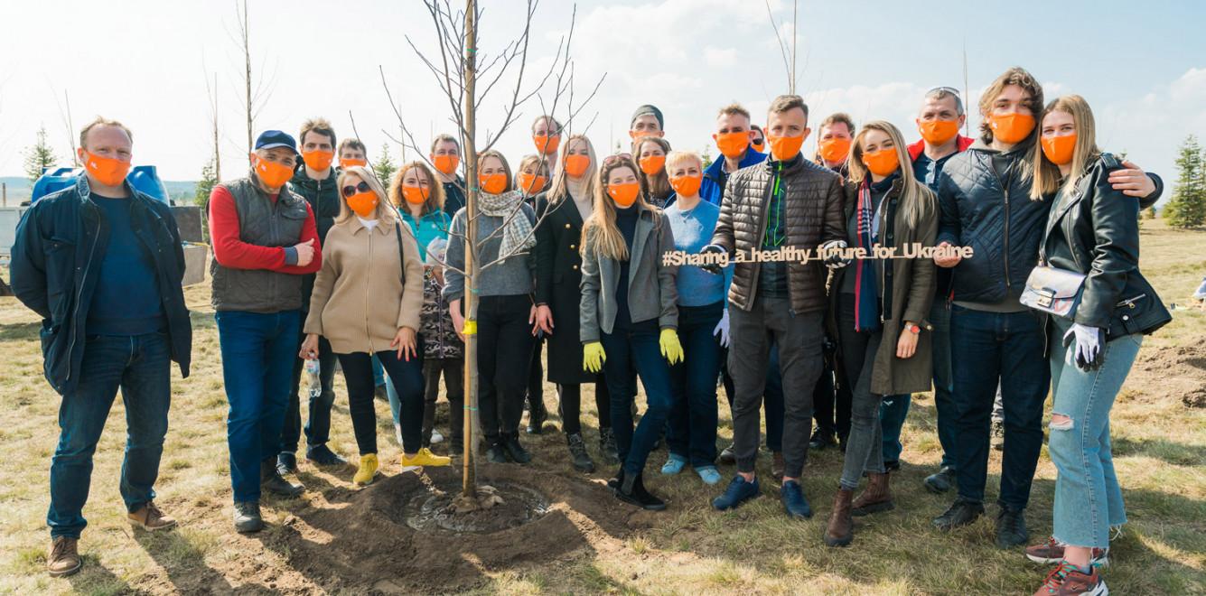 «Зеленая» традиция продолжается: как Air France — KLM помогают экологии в Украине